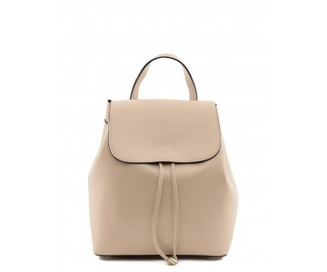 Saffiano leather backpack
