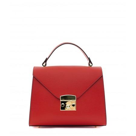 Saffiano Leather Handbag
