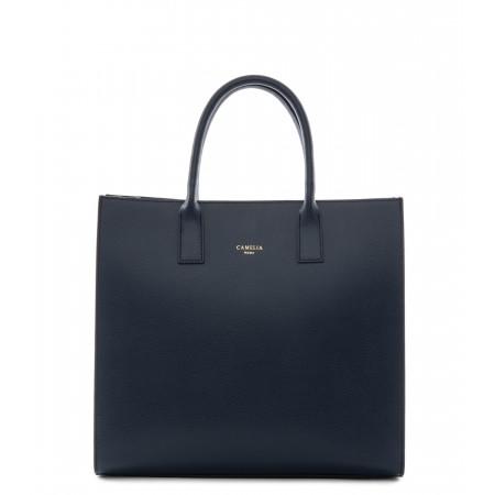 Grained Leather handbag