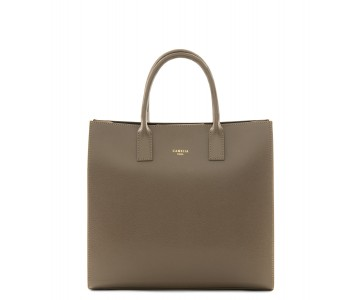Grained Leather handbag