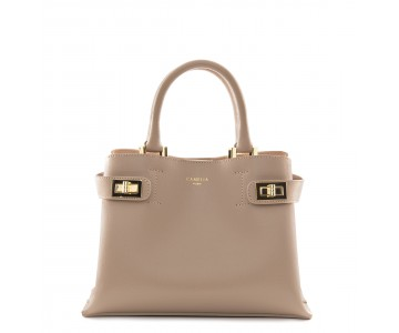 Mini Saffiano Leather handbag
